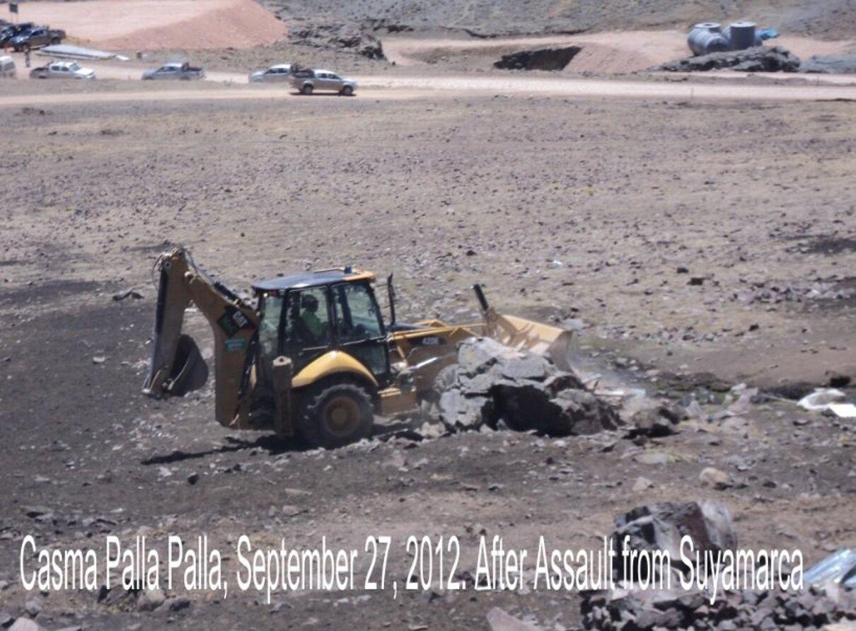 Complaint-review: Eduardo Hochschild of Hochschild Mining PLC - Dodgy land ownership strategies & contracts endanger Huancute and Casma Palla'Palla in Peru. Photo #1