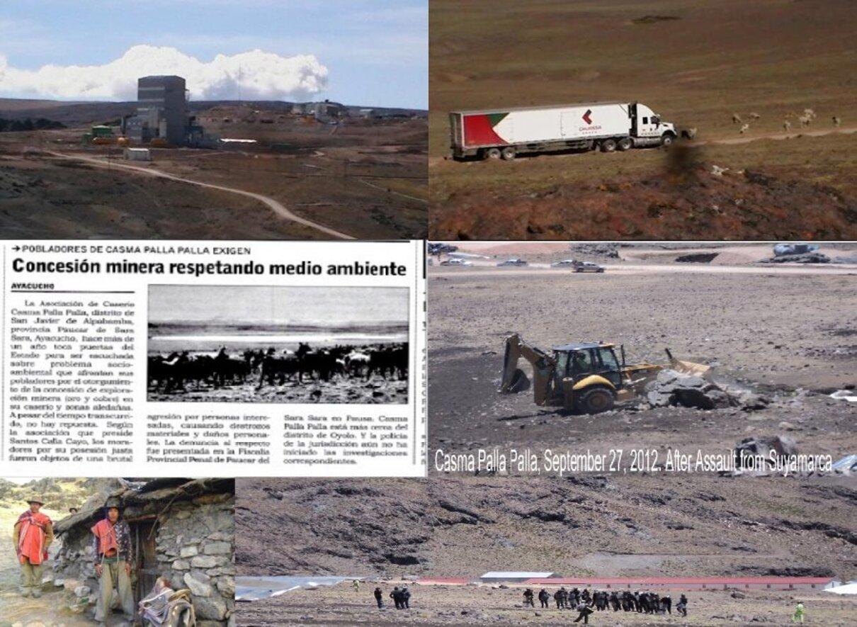 Complaint-review: Eduardo Hochschild of Hochschild Mining PLC - Dodgy land ownership strategies & contracts endanger Huancute and Casma Palla'Palla in Peru. Photo #3